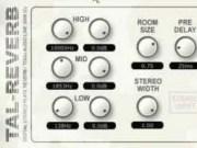 Free Audio Plugins - Tal-Reverb II (Reverb)