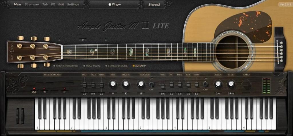 Ample Guitar M Lite Acoustic Guitar Emulation Audio Plugins For Free