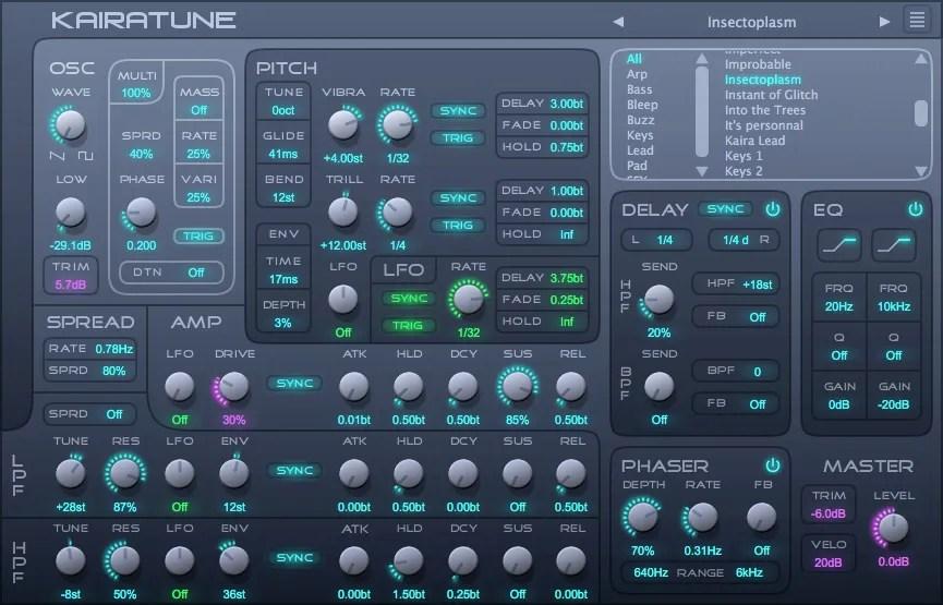 Kairatune | Audio Plugins for Free