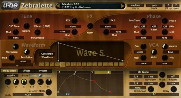 Zebralette | Audio Plugins for Free