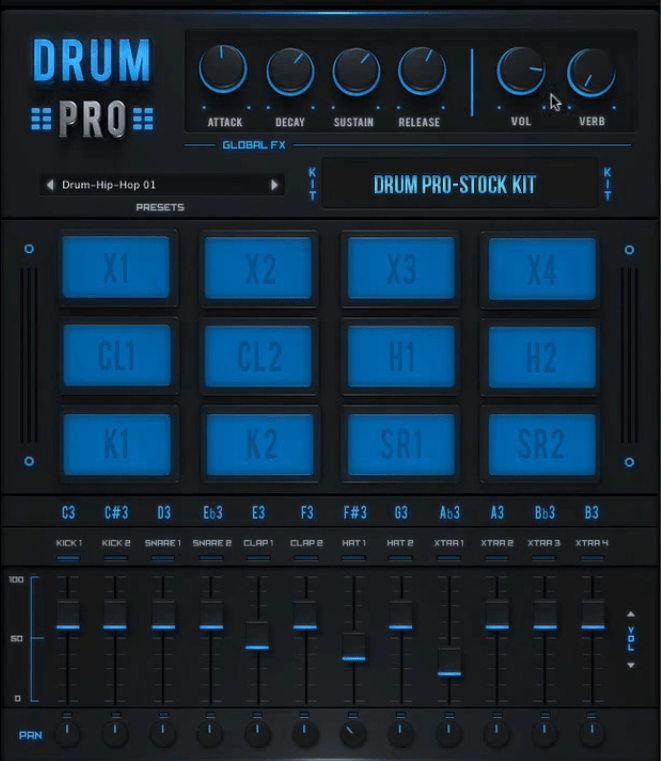 Drum Pro (Drums, Percussion) • Audio Plugins for Free