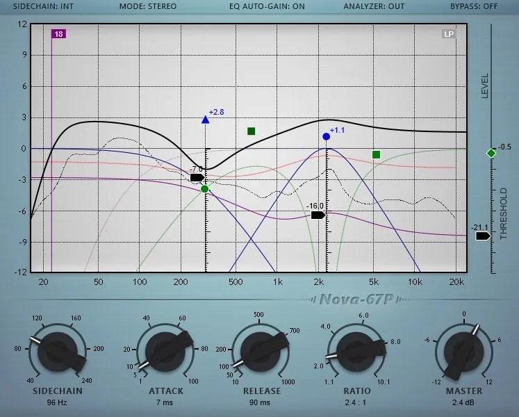 Nova-67P (Equalizer) • Audio Plugins for Free