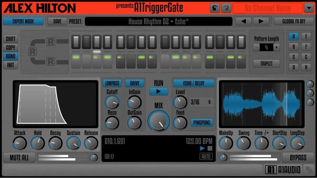 A1TriggerGate | Audio Plugins for Free