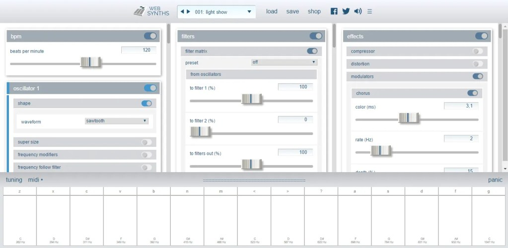 Websynths com (online, Synth) • Audio Plugins for Free
