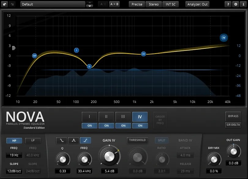 TDR NOVA   Audio Plugins for Free