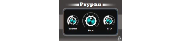 GFM Psypan (Binaural, Pan tool) • Audio Plugins for Free