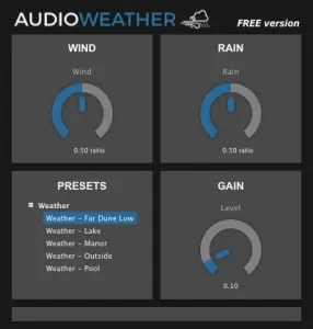 AudioWeather | Audio Plugins for Free