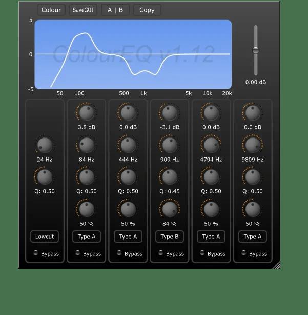 ColourEQ | Audio Plugins for Free