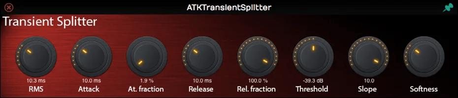 ATKTransientSplitter | Audio Plugins for Free