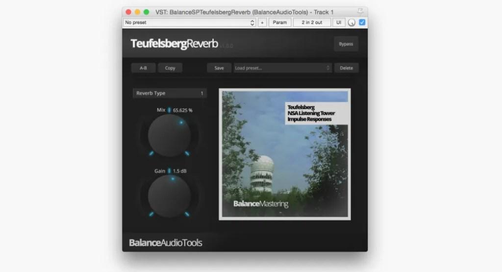 Teufelsberg Reverb | Audio Plugins for Free