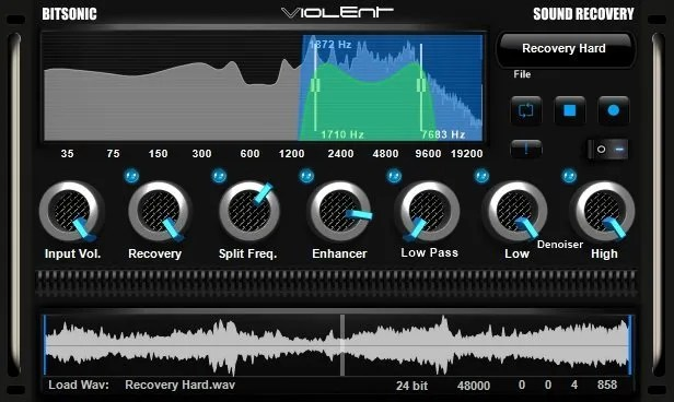 Sound Recovery | Audio Plugins for Free