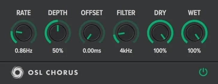 OSL Chorus   Audio Plugins for Free