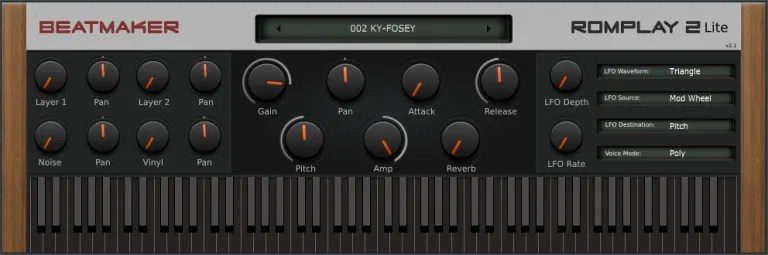 ROMplay 2 Lite   Audio Plugins for Free