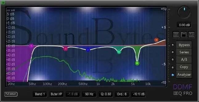 SoundBytes DDMf IIEQ Pro | Audio Plugins for Free