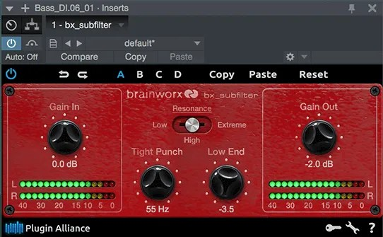 bx_subfilter | Audio Plugins for Free