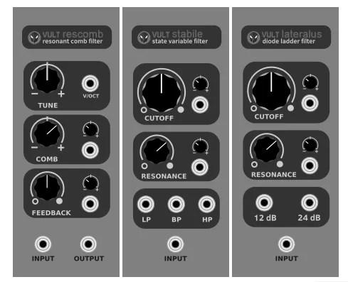 Vult Modules for VCV Rack (Modular synth, Standalone, VCV Rack