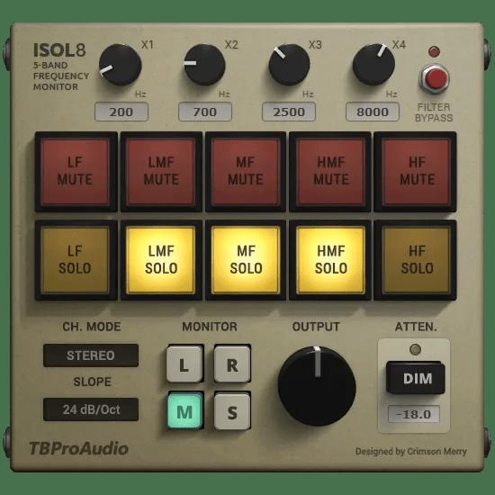 Isol8 | Audio Plugins for Free
