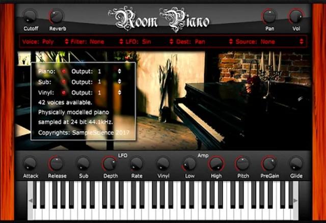 RoomPiano   Audio Plugins for Free