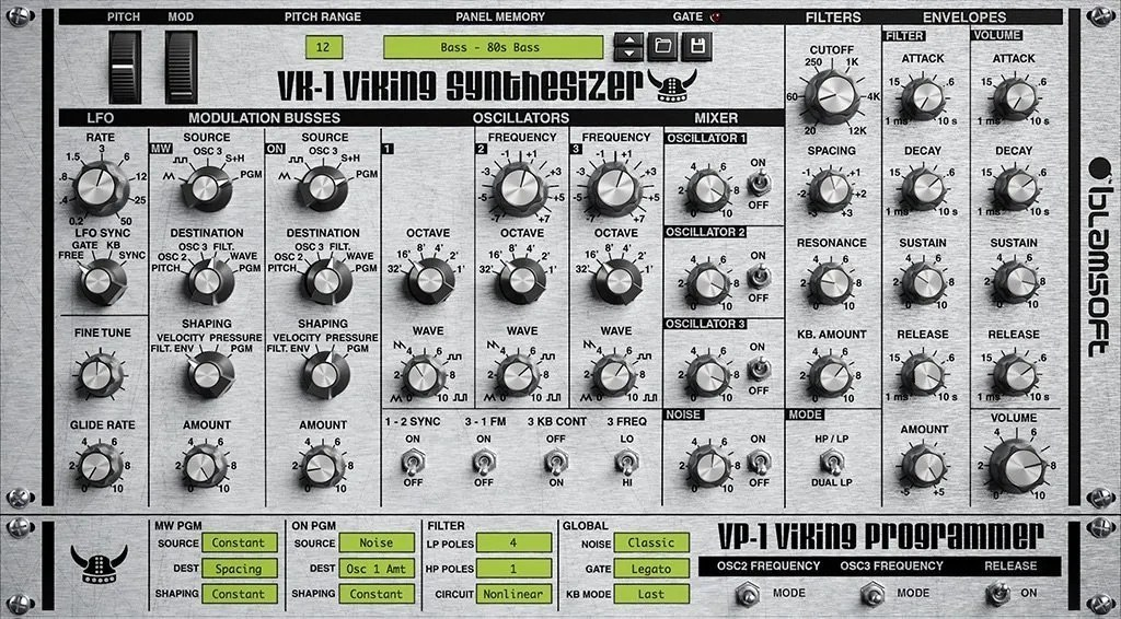 VK-1 VIKING SYNTHESIZER | Audio Plugins for Free