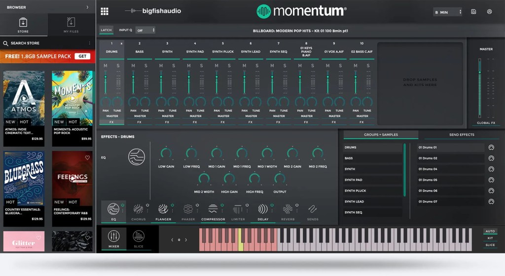 Momentum | Audio Plugins for Free