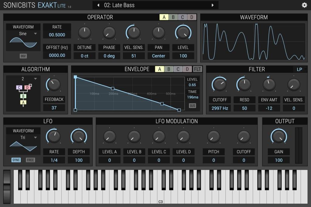 Exakt Lite | Audio Plugins for Free