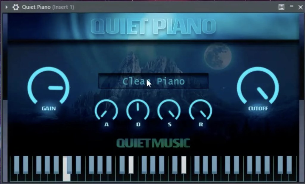 Quiet Piano | Audio Plugins for Free
