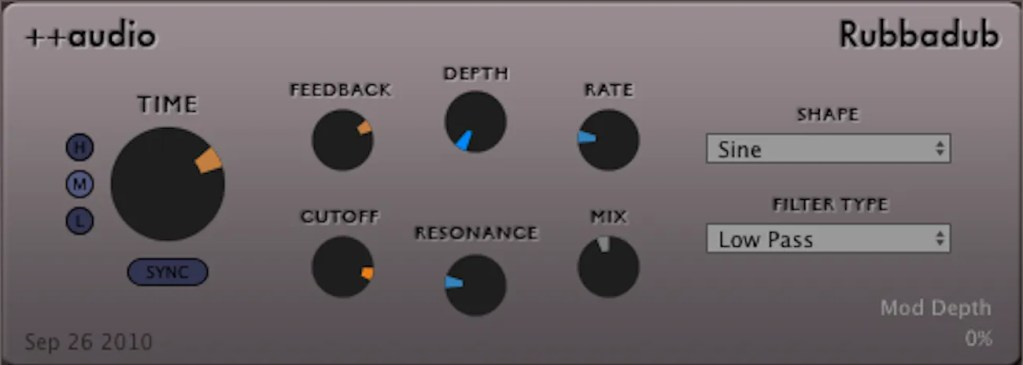 Rubbadub | Audio Plugins for Free