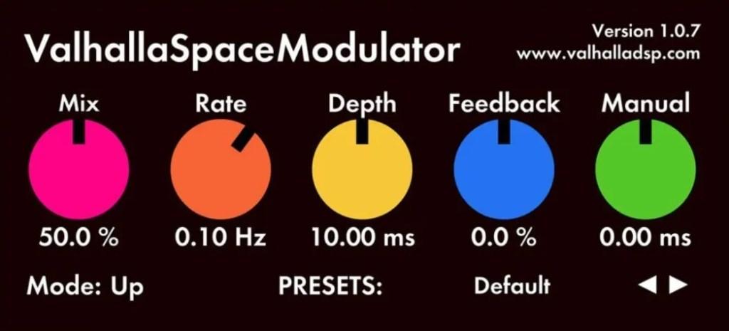 Valhalla Space Modulator | Audio Plugins for Free