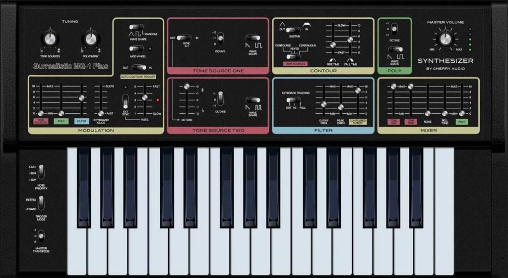 Surrealistic MG-1 Plusl | Audio Plugins for Free