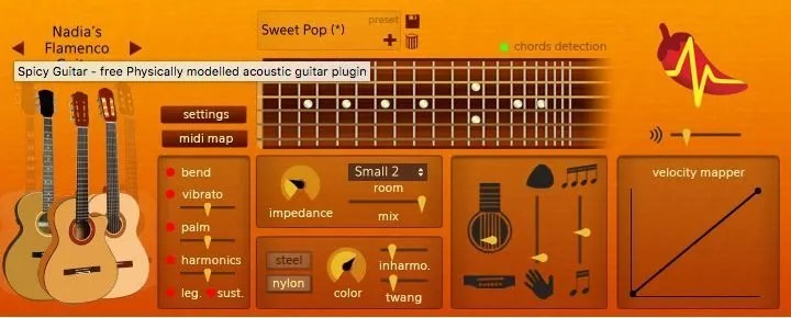 Spicy Guitar | Audio plugins for free