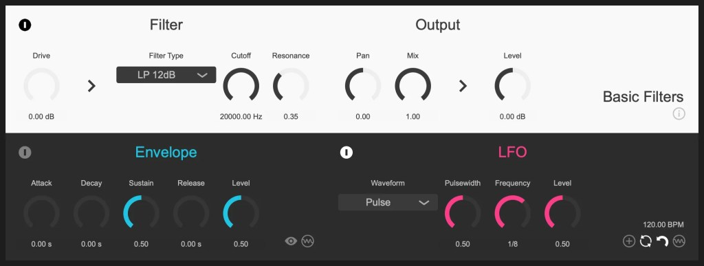 Basic Filters | Audio plugins for free