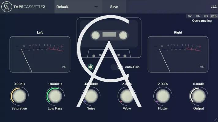 Tape Cassette 2 | Audio plugins for free