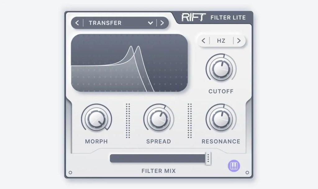 RIFT Filter | Audio plugins for free