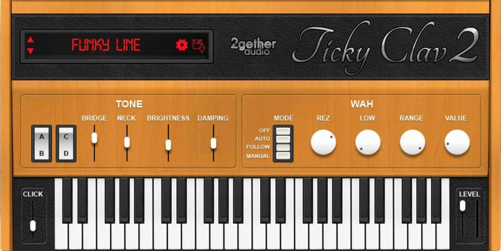 Ticky Clav 2 | Audio plugins for free