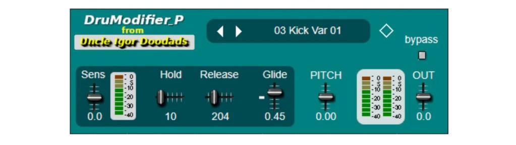 DruModifier_P | Audio plugins for free