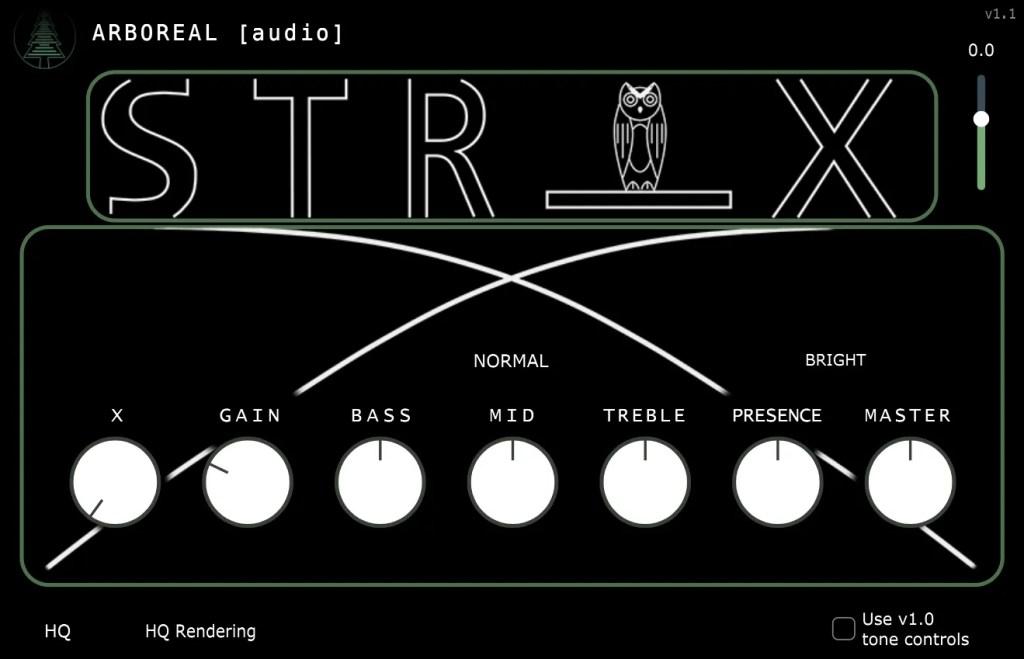STR-X   Audio plugins for free