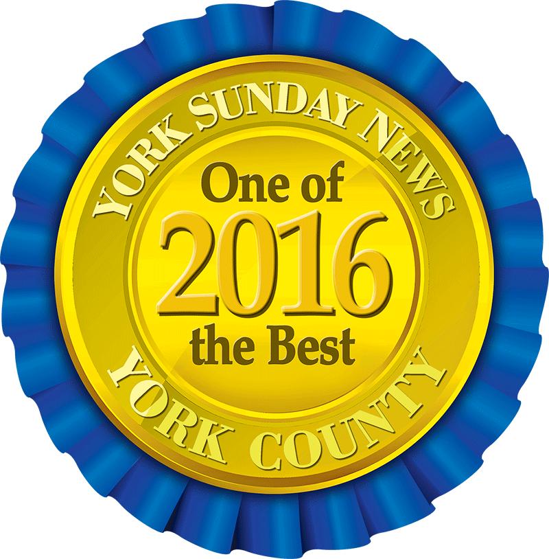 Best of York County 2016 Award Seal