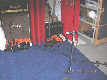 Posicionamento dos amplificadores