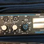 Operador de áudio na TV 5