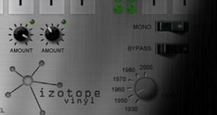 Plugin de graça #7 -  iZotope Vinyl 17