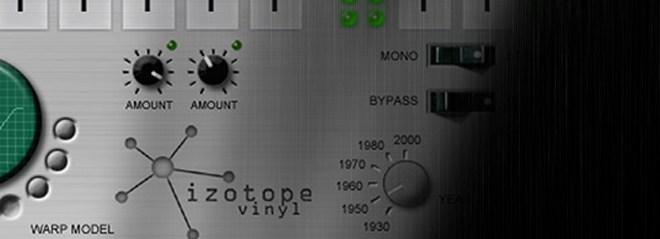 Plugin de graça #7 -  iZotope Vinyl 12