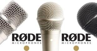 Microfones Rode na estrada 2