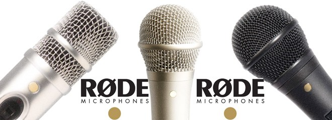Microfones Rode na estrada 1