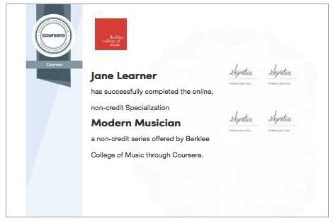 Diploma do Coursera