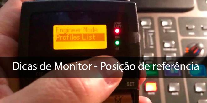 Posição de referência - Dicas de Monitor 1