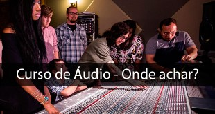 curso de áudio