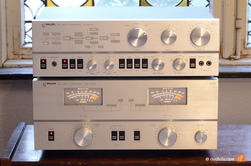 Philips Laboratory Series 572 & 578 for sale.