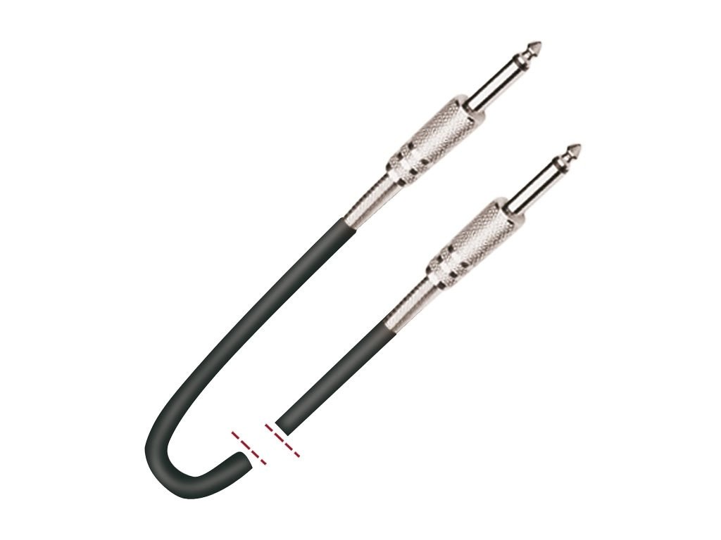 Cable De Instrumento Jack 1 4 Mono Macho Jack 1 4 Mono