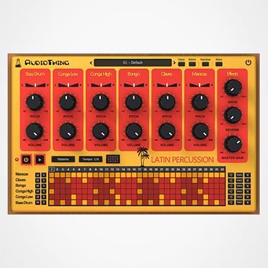 Latin Percussion Plugin Thumbnail