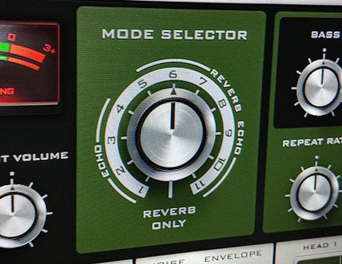 Outer Space Mode Selector Knob